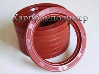 Манжета 1.1-80х105х10 (красный), резина повышенной маслобензостойкости, на основе европейских каучуков