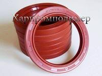 Манжета 2.1-80х105х10 (красный). Материал изделия: резина повышенной маслобензостойкости, на основе европейских каучуков