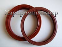 Манжета армована 2.2-142х168x15. Колір - червоний, гума підвищеної оливобензостійкості, на основі європейських каучуків