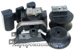 Формові гумотехнічні вироби (ГТВ): амортизатори та інші