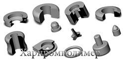 Втулки, кольца и другие резинотехнические изделия