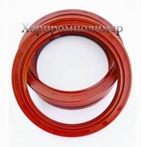 Манжета 2.2-100х125х12 (красный), резина повышенной маслобензостойкости, на основе европейских каучуков