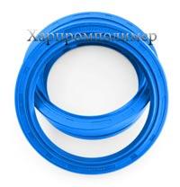Манжета 2.2-100х125х12 (голубой), резина повышенной маслобензостойкости, на основе европейских каучуков
