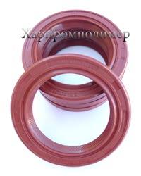 Манжета 2.2-50х70х10, колір - коричневий, гума підвищеної оливобензостійкості