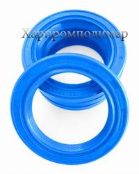 Манжета 2.2-50х70х10, колір - блакитний, гума підвищеної оливобензостійкості