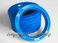 Манжета 1.1-80х105х10 (голубой), резина повышенной маслобензостойкости, на основе европейских каучуков