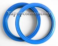 Манжета армована 2.2-140х170х13. Колір - блакитний, гума підвищеної оливобензостійкості на основі європейських каучуків