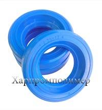 Манжета 1.2-25х42x10 (блакитний), гума ОБС