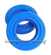 Манжета 2.2-25х42х10 (блакитний), резина МБС